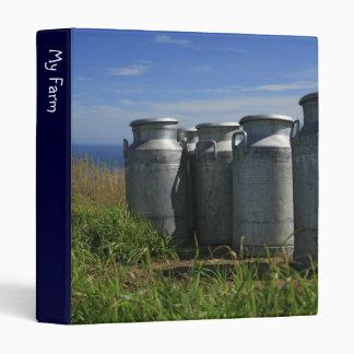 Milk urns binder