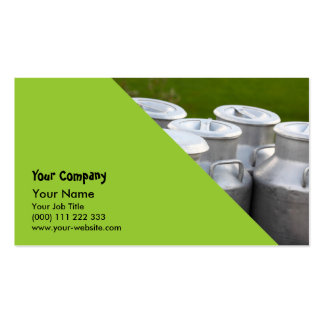 Milk urns Double-Sided standard business cards (Pack of 100)