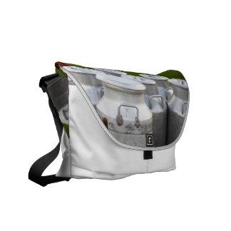 Milk urns messenger bag