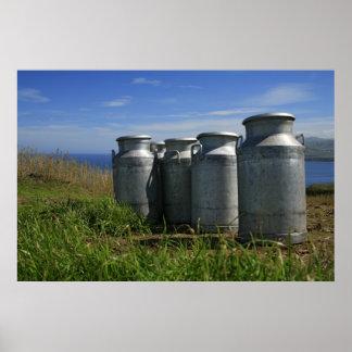 Milk urns poster