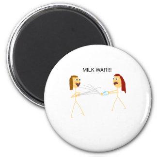 Milk Wars 2 Inch Round Magnet
