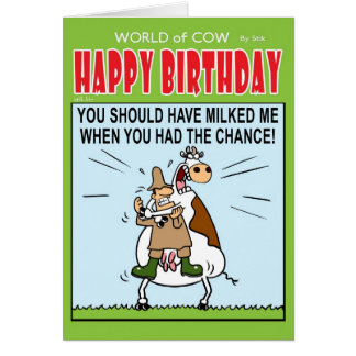 Milked Card