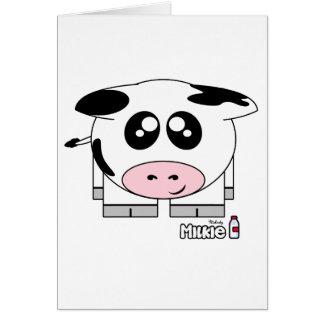 Milkie Pudgie Pet Card