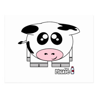 Milkie Pudgie Pet Postcard