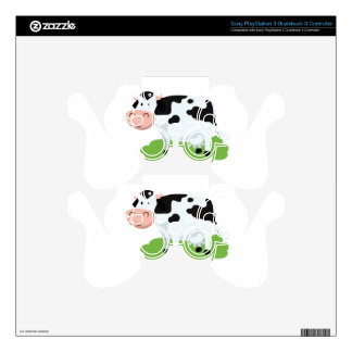 milking cow in the garden PS3 controller skins