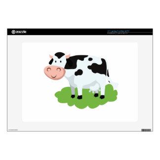 "milking cow in the garden skin for 15"" laptop"