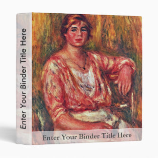 Milkmaid By Pierre-Auguste Renoir (Best Quality) Vinyl Binder