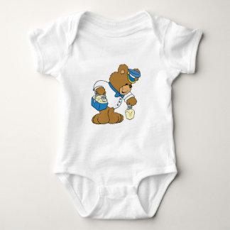 MilkMan Bear Baby Bodysuit