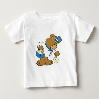 MilkMan Bear Baby T-Shirt
