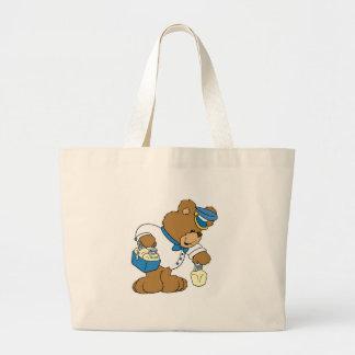 MilkMan Bear Large Tote Bag