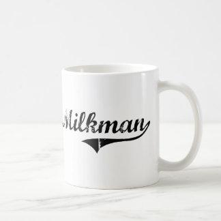 Milkman Professional Job Classic White Coffee Mug