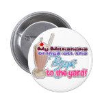 milkshake 2 inch round button