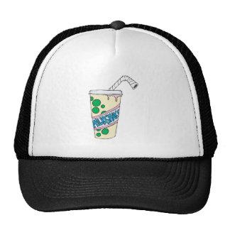 milkshake de la fresa gorra