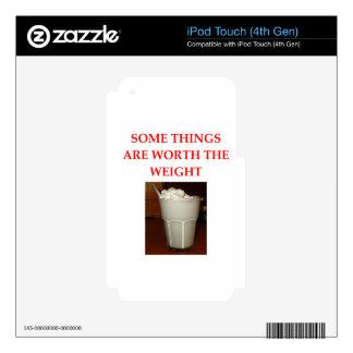 milkshake decal for iPod touch 4G
