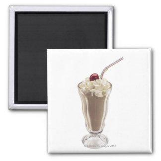 Milkshake Imán Cuadrado