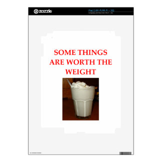 milkshake iPad 2 skins