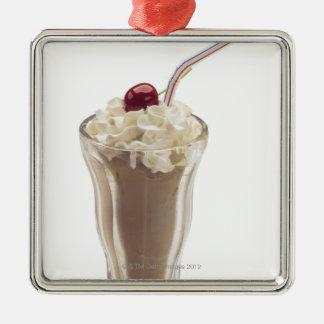 Milkshake Metal Ornament