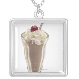 Milkshake Silver Plated Necklace