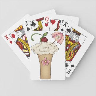 Milkshake With An Umbrella Playing Cards