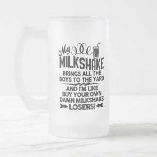 Milkshakes and Smoothies Frosted Glass Beer Mug