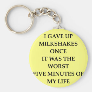 MILKSHAKES.jpg Keychain