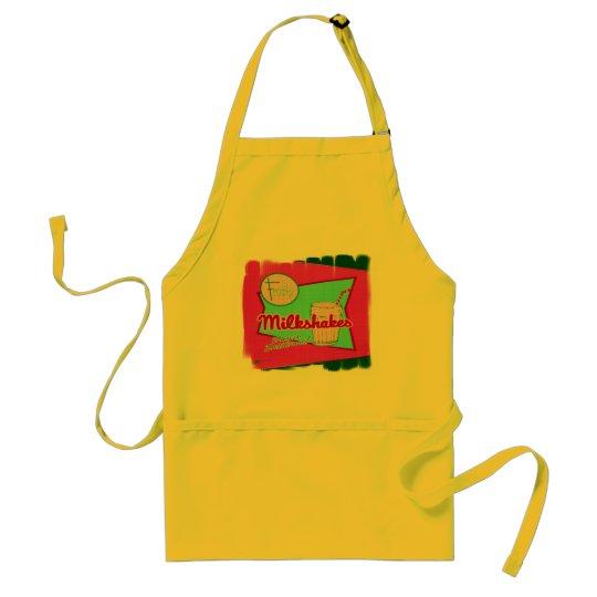 Milkshakes retro apron
