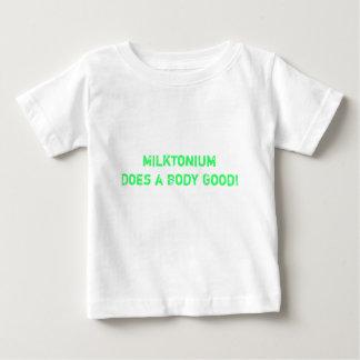 Milktonium Does a Body Good! Baby T-Shirt
