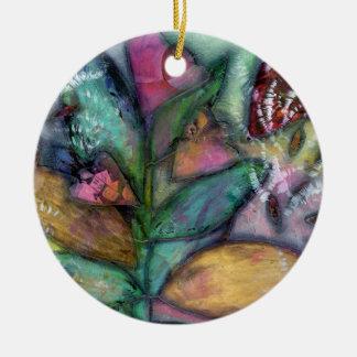 Milkweed Ceramic Ornament