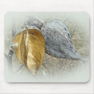 Milkweed Pods Mouse Pads