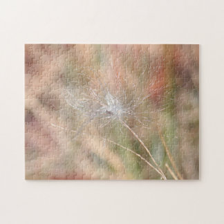Milkweed seed and fluff jigsaw puzzle