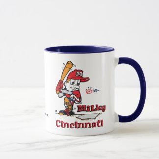 Milky Baseball Player Cincinnati Mug