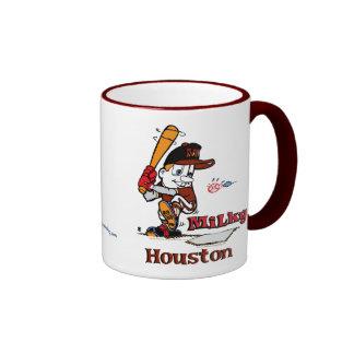 Milky Baseball Player Houston Mugs