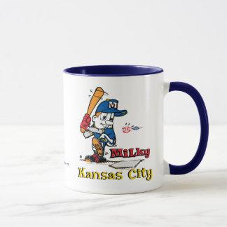 Milky Baseball Player Kansas City Mug