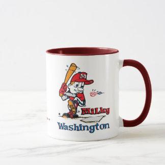 Milky Baseball Player Washington 1 Mug
