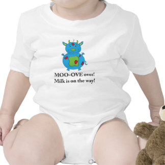 Milky Cow shirt for baby boys
