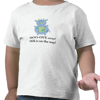 Milky Cow T-shirt for little boys