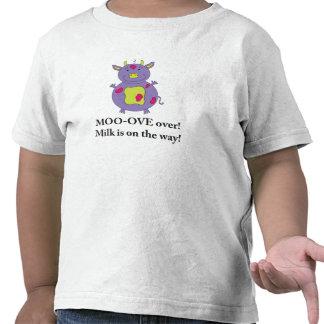 Milky Cow T-shirt for little girls
