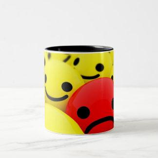 Milky Strong Two-Tone Coffee Mug