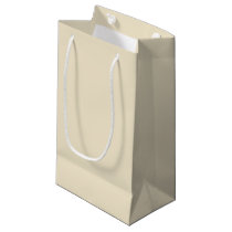 Milky Tea-Colored Gift Bag