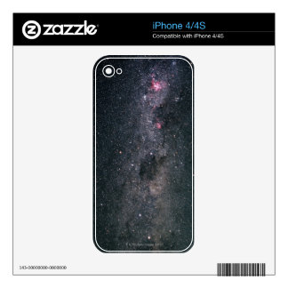 Milky Way 3 Decals For The iPhone 4S