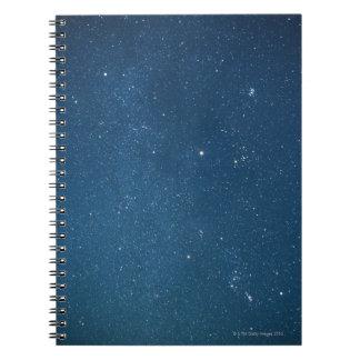 Milky Way 4 Spiral Notebook