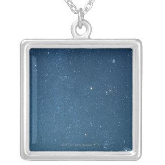 Milky Way 4 Square Pendant Necklace