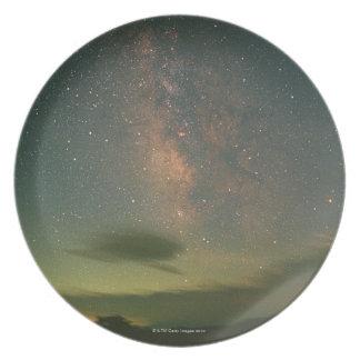 Milky Way 6 Melamine Plate