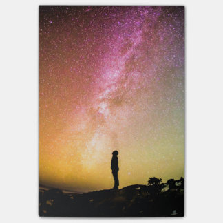 Milky Way Beautiful Colorful Nature Scenery Post-it Notes