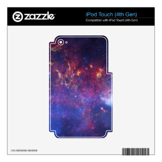 MILKY WAY CENTER SKINS FOR iPod TOUCH 4G