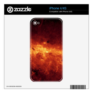 MILKY WAY CLOUDS SKIN FOR iPhone 4S