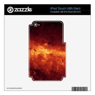 MILKY WAY CLOUDS SKINS FOR iPod TOUCH 4G