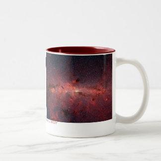 Milky Way Gal... Two-Tone Coffee Mug