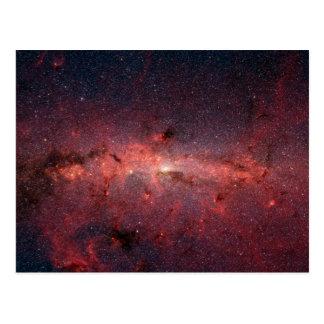 Milky Way Galactic Center Postcard