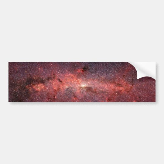 Milky Way Galactic Center, Stars, Clouds, Clusters Bumper Sticker